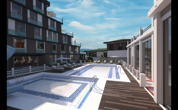 READY KEY APARTMENTS NEAR THE CENTER OF IZMIT 22